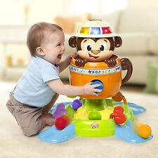 Silly Monkey Ball Stand Center Spin Song Shoot Toys Baby Kids Play Game Learning