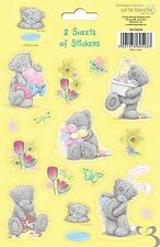 Me To You Tatty Teddy Bear - Pack of 2 Sheets of Stickers ( Yellow )