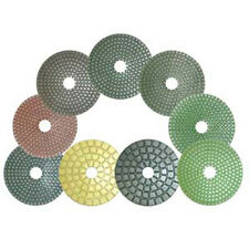 "Cyclone 4"" Hurricane Wet Polishing Pads - Full Set"