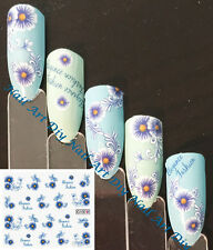 Nail Art Water Transfer Stickers-Decals-Adesivi per Unghie-Fiori per Manicure !!