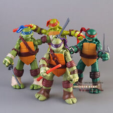 New 5'' Teenage Mutant Ninja Turtles Classic Collection TMNT Figures Toys 4 Pcs