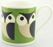 Orla Kiely Bone China Mug - Green Apple Owl