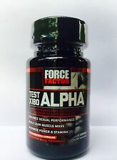 FORCE FACTOR Test X180 Alpha Testosterone Booster Men 8 Capsules Exp: 09/2017