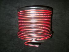 10 GAUGE RED BLACK ZIP WIRE 25 FT AWG CABLE POWER GROUND STRANDED COPPER CAR