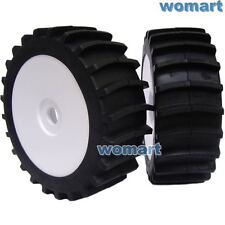 4pcs RC 1/8 Paddles Buggy Tires Hex 17mm Wheels For Snow Sand Master Buggy Car