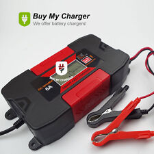 New 12V 6A Gel/Lead-Acid/Maintenance-free Battery Charger w/ LCD Display 2017