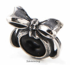 Authentic Trollbeads Silver Bow Spacer TAGBE-30131