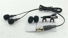 New PLMS48 Electret Condenser Cardioid Lavalier Microphone W Windscreens & clip