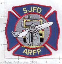 California - San Jose ARFF CA Fire Dept Patch