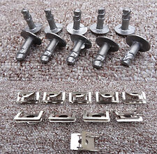 BMW METAL ENGINE UNDERTRAY CLIPS SPLASHGUARD SHIELD BOTTOM COVER FASTENER
