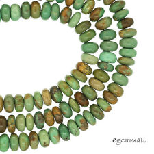 """16"""" Natural Chinese Turquoise Rondelle Beads 5mm #82143"""