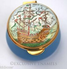 Staffordshire Enamels Old Hall Mary Rose Britain's Maritime Heritage Enamel Box