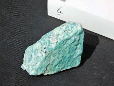 6) Large Natural Green Amazonite Amazon Crystal Mineral Madagascar 146g