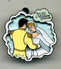 DISNEY YEAR OF A MILLION DREAMS CINDERELLA AND PRINCE CHARMING PIN LE 1500