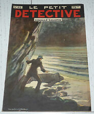 N°52 LE PETIT DETECTIVE ARNOULD GALOPIN 1930 ILLUSTRATIONS MAITREJEAN
