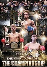 K-1 WORLD GP 2015 ~THE CHAMPIONSHIP~ [DVD] Japan