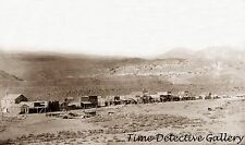 Frontier Town in Gardiner Park County, Montana - 1887 - Historic Photo Print