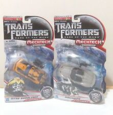 TransFormers Movie Deluxe Nitro Bumblebee Sideswipe Race Car Lot DOTM G1 NEW