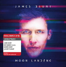 JAMES BLUNT - Moon Landing [TARGET-EXCLUSIVE CD, 2013] - NEW! 3 RARE BONUS TRKS