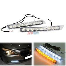 Audi Style LED Daytime Running Light DRL Daylight Kit Fog Lamp Day Lights