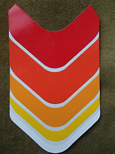 CHEVRON DESIGN CYCLE FRAME DECAL STICKER NEW APPROX 150mm LONG X 93mm WIDEST