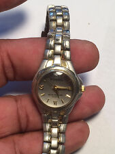 Nice Ladies Dual Tone Fossil ES-9827 Analog Watch
