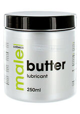 Cobeco Tub MALE Thick Butter Lubricant Heavy Duty Anal Sex Fisting Lube 250ml