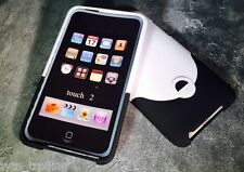 iPod Touch 2nd Generation case cover in Black & White *UK SELLER*
