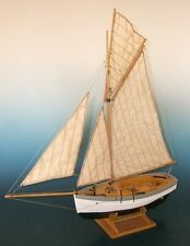 "Elegant, finely detailed wooden ship kit by Soclaine: ""Le Rigel"""