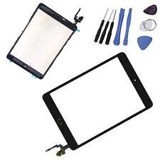 iPad Mini 3 Display Scheibe Schwarz IC-Chip Touchscreen Homebutton Glas Werkzeug