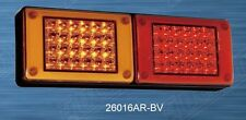 Pair 12/24V LED MINI Jumbo Tail lights, Amber/Red/ Truck,Bus,Ute,Trailer,Caravan