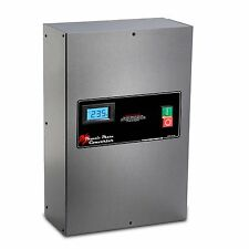 Rotary Phase Converter Panel - 20 HP - CNC Grade, Industrial Grade PC20PLVPO
