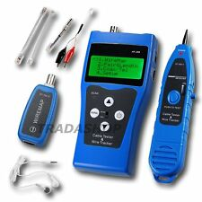 Network Ethernet LAN Phone Tester wire Tracker USB coaxial Cable 5E 6E RJ45 11