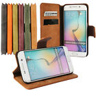 Scrub Magnetic PU leather Wallet Card Holder Stand Flip Case Cover Lot Phones