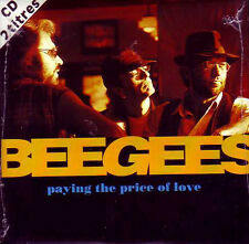 CD Single  BEE GEES Paying the price of love 2-Track CARD SLEEVE  NEW