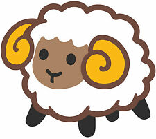 Framed Emoji Print – Happy Sheep (Picture Poster Android iPhone Art Emoticon)