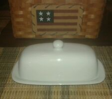 Everyday White (Bed Bath & Beyond) 1/4 Butter Dish