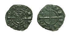 pcc1592_24) BRINDISI Federico II (1197-1250) Denaro con Ritratto 1239  MIR 282