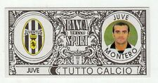 figurina - TUTTO CALCIO EURO MONETE  - JUVE MONTERO