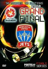 NEWCASTLE JETS A-LEAGUE 2008 GRAND FINAL DVD *BRAND NEW AND SEALED*