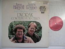LYNN HARRELL PLAYS DVORAK CELLO CONCERTO LSO LEVINE RCA 11155