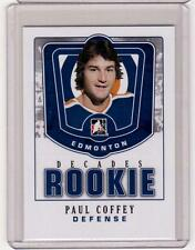PAUL COFFEY 10/11 ITG Decades 1980s Rookie #DR-34 SP Insert Card Edmonton Oilers