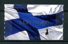 Finland 2017 MNH Finnish National Flag 1v S/A Set Flags Stamps