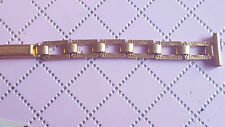 BRACELET MONTRE PLAQUÉ OR / WATCH BAND / 12 mm /* REF/BF35