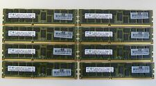 32GB (8x4GB) PC3-10600R DDR3 1333MHz Reg ECC HP DELL IBM Lenovo Apple
