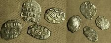 Russia : Mix Lot 4 Coins Early Hammered Silver Coins (C.15th-18th Cent) G1047