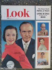 1952 March 11 Look Magazine Vivien Leigh  VINTAGE ADS Bob Feller Bob Hope