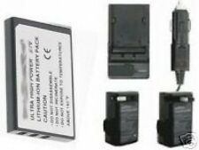 Battery + Charger for for Fuji FujiFilm FinePix 50i F401 F410 F601 Camera