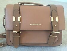 River Island Large Tan Satchel Bag