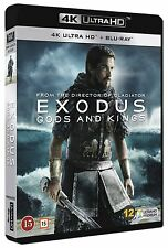 4K ULTRA HD  - EXODUS GODS AND KINGS (NEW SEALED)